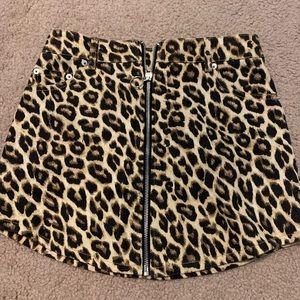 Cheetah Forever 21 Skirt